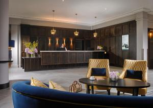 The lobby or reception area at Carrigaline Court Hotel & Leisure Centre