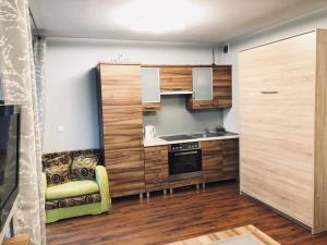 Kuchnia lub aneks kuchenny w obiekcie Apartament nr 39 Baltic Park