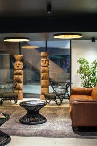 El vestíbulo o zona de recepción de Almacruz Hotel y Centro de Convenciones (Ex Galerías)