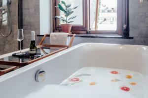 Ванная комната в Maison Hustinx op het Vrijthof