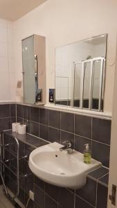 Salle de bains dans l'établissement The Marylebone Apartment