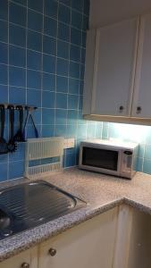 Cuisine ou kitchenette dans l'établissement The Marylebone Apartment