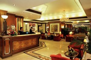 The lobby or reception area at Fariyas Hotel Mumbai , Colaba