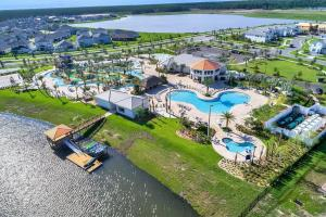 A bird's-eye view of B - New 4 Bedroom Home - 5 Miles to Disney - Free Water Park - Private Pool