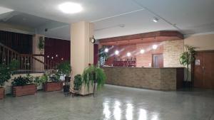 Hol lub recepcja w obiekcie Dom Turysty Sanok