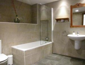 Un baño de Casa Rural Espargoiti
