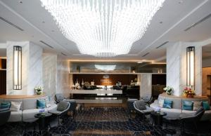 The lobby or reception area at Shama Lakeview Asoke