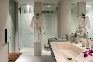 A bathroom at The Datai Langkawi