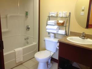 Salle de bains dans l'établissement Hotel Citadelle