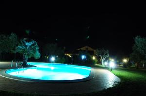 The swimming pool at or near Il Casale