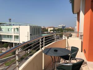 Balkón nebo terasa v ubytování Hotel Cleofe