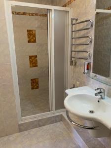 Ванная комната в Макс Хаус