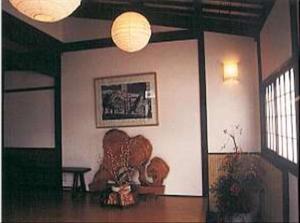 A seating area at Oyado Sumire-so