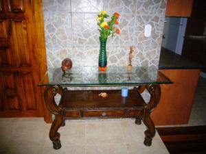 A bathroom at Villas Pico Bonito