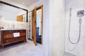 Ein Badezimmer in der Unterkunft Hotel Gasthof Eder