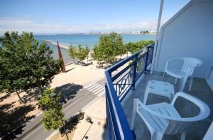 A balcony or terrace at Hotel Ramblamar