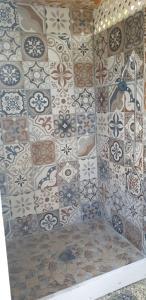 A bathroom at Rangiroa Plage