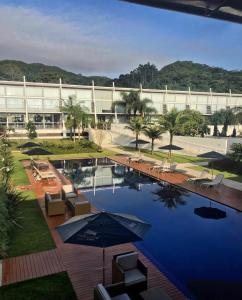 A view of the pool at Parador Estaleiro Hotel Exclusive or nearby
