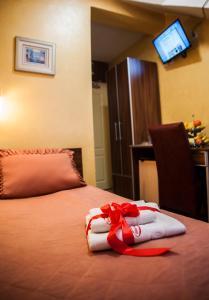 Krevet ili kreveti u jedinici u okviru objekta Guesthouse Villa Modex