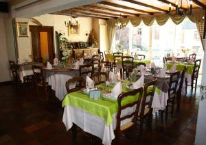 Restaurant ou autre lieu de restauration dans l'établissement Hotel Restaurant des Deux Vallées