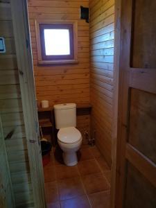 Vannas istaba naktsmītnē Pirmie Zaļmeži