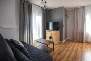 Telewizja i/lub zestaw kina domowego w obiekcie 5 Wierchów Apartamenty
