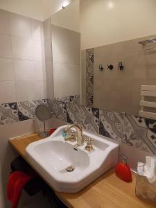A bathroom at Les Gîtes De Morville