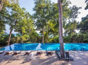 The swimming pool at or near Taj Exotica Resort & Spa, Andamans