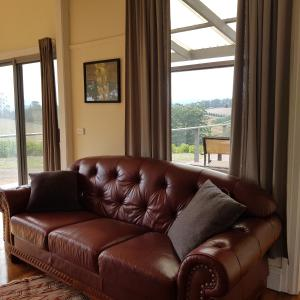 A seating area at The Nook Gembrook