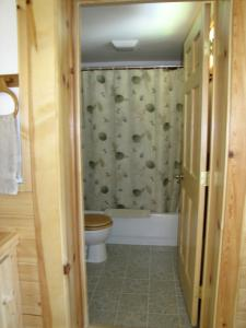 A bathroom at Angels Rest on Resurrection Bay LLC