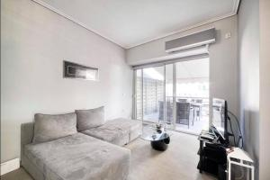 Posezení v ubytování Elea Athens Apartment