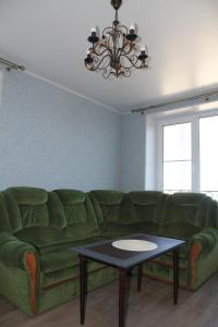 A seating area at Peterhof Apartments