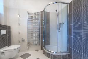 A bathroom at Charming Apartment Andel