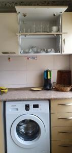A kitchen or kitchenette at Parkside Apartment
