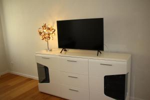 TV a/nebo společenská místnost v ubytování Apartment NUMBER 5