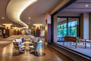 A restaurant or other place to eat at Kiki Shiretoko Natural Resort