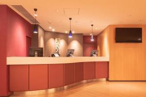Hall o reception di E Hotel Higashi Shinjuku