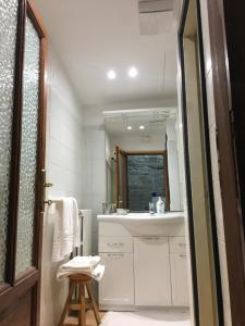 A bathroom at Casa Mario Lupo