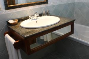 A bathroom at Tirontillana