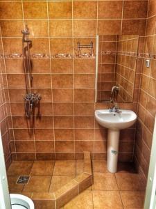 Ванная комната в Мотель на Карельской