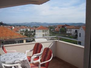 A balcony or terrace at Apartments Branimir