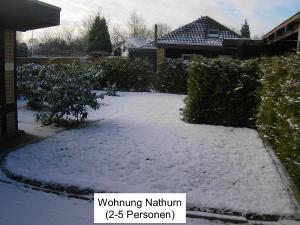 Haus Helgoland im Winter