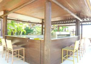 The lounge or bar area at Barra Bali Resort