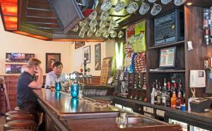 O lounge ou bar de Hotel Torenzicht