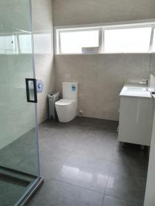 Ванная комната в Uenuku Lodge