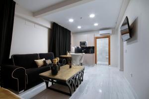 Zona de estar de Bibo Suites Gran Vía