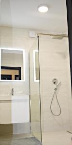 Kúpeľňa v ubytovaní Penzion Plaza