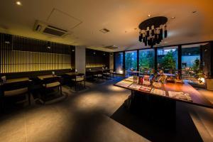 京都糸屋酒店餐廳或用餐的地方