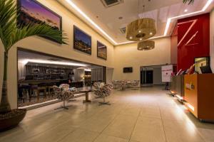 The lobby or reception area at Flat Ramadam Beach