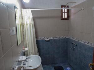 Un baño de Posada Del Arbol